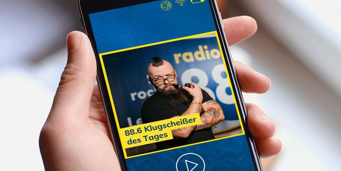 Heute hatte Patrick die Chance auf das begehrte Klugscheißer-Häferl und den Titel 88.6 Klugscheißer des Tages.