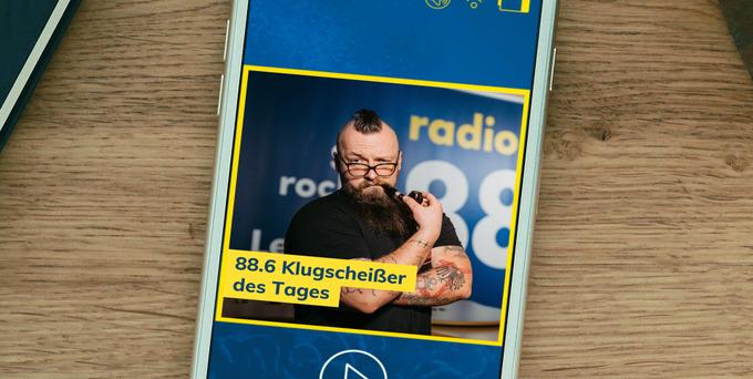 Heute hatte Erik die Chance auf das begehrte Klugscheißer-Häferl und den Titel 88.6 Klugscheißer des Tages.