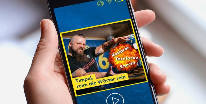 Timpel, reim die Wörter rein! Schafft es der Timpel die drei Begriffe von Daniela in einen Reim zu einem Tagesthema von der Kinga einzubauen?
