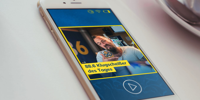 Heute hatte Katrin die Chance auf das begehrte Klugscheißer-Häferl und den Titel 88.6 Klugscheißer des Tages.