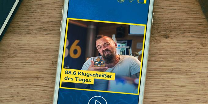 Heute hatte Jakob die Chance auf das begehrte Klugscheißer-Häferl und den Titel 88.6 Klugscheißer des Tages.