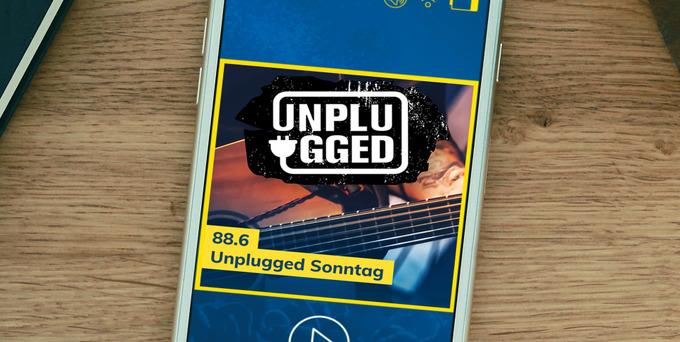 Der 88.6 Unplugged Sonntag - jeden SO bei uns auf 88.6 - ab 12:30.
